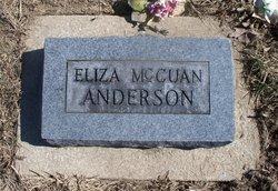 Eliza <I>McCuan</I> Anderson
