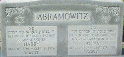 Anna Abramowitz