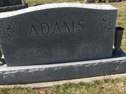 Callie <I>Miles</I> Adams