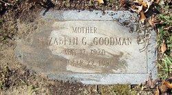 Elizabeth Georgia <I>Hawthorne</I> Goodman