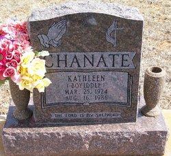 Kathleen <I>Boyiddle</I> Chanate