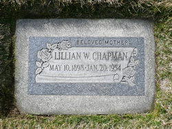 Lillian <I>Whitehead</I> Chapman