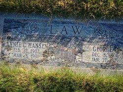 Annie Catherine <I>Hansen</I> Law