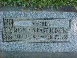 Minnie Bertha <I>East</I> Judkins