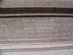 Anna Mercer <I>Minge</I> Dunlop