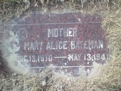 Mary Alice <I>Farrer</I> Bateman
