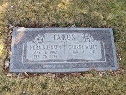 Nora B <I>Jensen</I> Takos