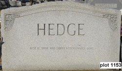 Earl Leonard Hedge