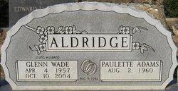 Paulette <I>Adams</I> Aldridge