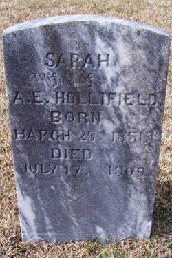 "Sarah ""Sally"" <I>Mace</I> Hollifield"