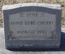 Annie <I>Eure</I> Cherry