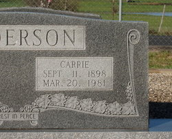 Carrie Anderson