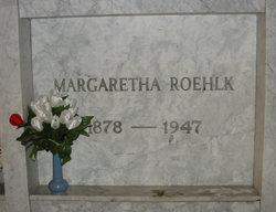 Margaretha <I>Rohwer</I> Roehlk