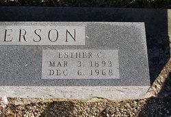 Esther C. Anderson