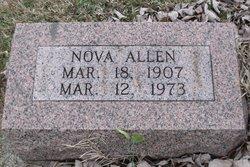 Nova <I>Evans</I> Allen