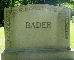 Margaret <I>Hartmann</I> Bader