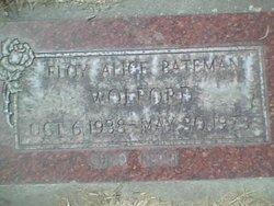 Floy Alice <I>Bateman</I> Wolford