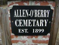 Allen-O'Berry Cemetery