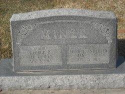 Lillie Elizabeth <I>Andersen</I> Miner