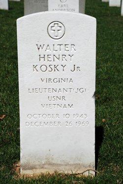 LTJG Walter Henry Kosky, Jr