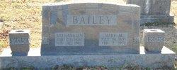 Mary Malender <I>Lee</I> Bailey