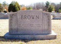 """Joseph Bivings """"Joe"""" Brown"""