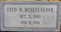 Fred Walker McAlexander