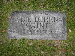 Sybil Lorena McGinty