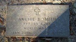 Archie B Smith