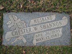 """Sgt Chester Worthen """"Chet"""" Shannon"""