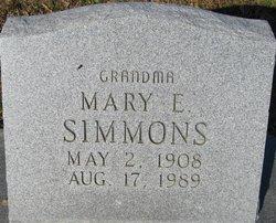 Mary E Simmons