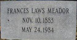Frances <I>Laws</I> Meador