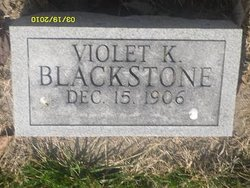 Violet K Blackstone