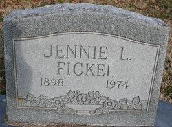 Jennie Louise <I>Akins</I> Fickel