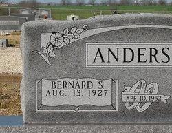Bernard S. Anderson