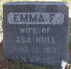 Emma F. <I>Atherton</I> Hull