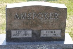 Ethel Fern Burch <I>Gillette</I> Amspoker