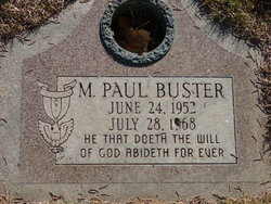 Marion Paul Buster