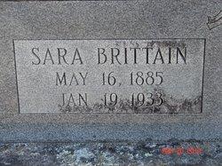 Sarah <I>Brittain</I> Chambless