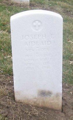 Joseph E Aidlaid