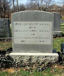 John Chichester Mackall