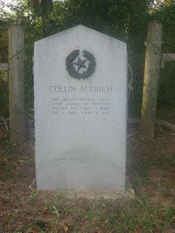 """Oliver Collin """"Collin"""" Aldrich, Sr"""