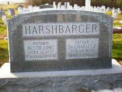 "Elizabeth S ""Bettie"" <I>Long</I> Harshbarger"