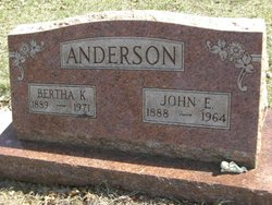 Bertha K Anderson