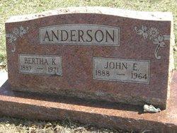 John E Anderson