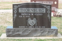 "Patricia M. ""Pat"" <I>Ruhlman</I> Thornburg"