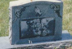 Claud Washington Riddle