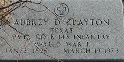 Aubrey D. Clayton
