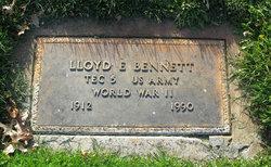 Lloyd Edwin Bennett