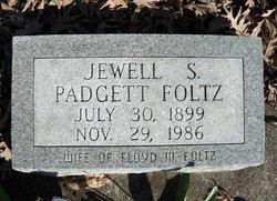 Jewell Susanne <I>Padgett</I> Foltz